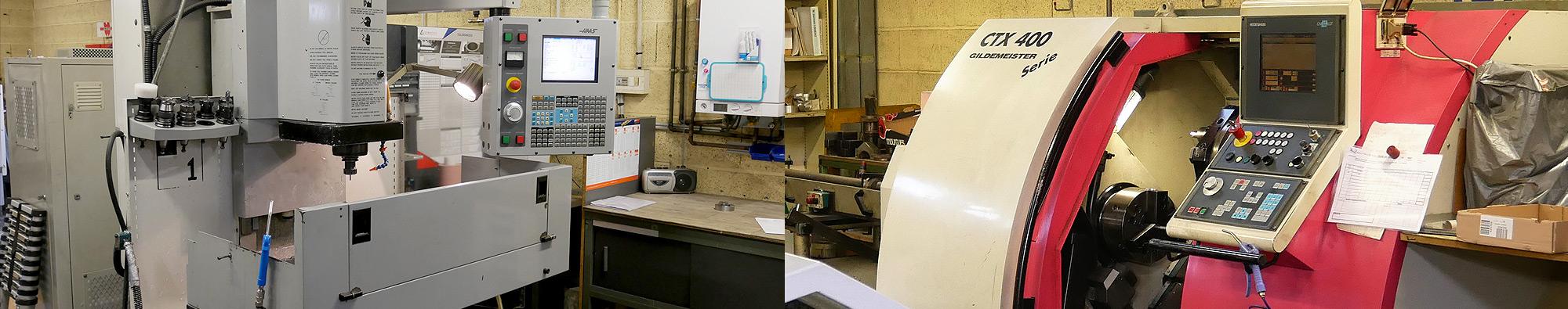 Etude et fabrication de pièces mécaniques de précision, machines spéciales, bâtis mécano-soudés